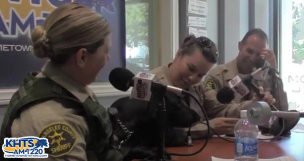 LASD K-9 Deputy Appears On 'Santa Clarita Sheriff Talk' With Detection Dog 'Stack'